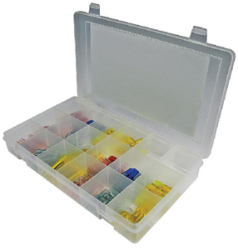 120 Piece Clear Seal Heat Shrink Terminal Kit …