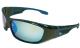 Cuda Polarized Blue Mirror Sunglasses W/Blue  …