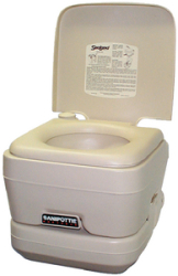 Sanipottie 962 2.8 Gal.-Platinum