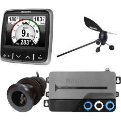 Raymarine i70 System Pack, Wind, Depth, Speed