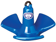 Greenfield River Anchor, 30 Lb, Pvc Coated Bl …