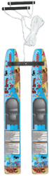 Water Wabbit Trainer Skis - Hydroslide