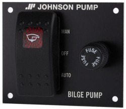 3 Way Bilge Pump Control, 12V, Man-Off-Auto