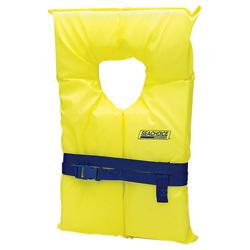 Life Vest, Adult Type II, Universal, Yellow - …
