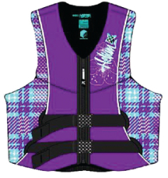 Women's Axis Neoprene Vest, Blue/Purple 2 …