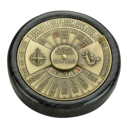 Perpetual Calendar, Marble Base - Authentic M …