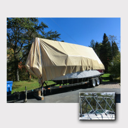 Navigloo Boat Shelter for 25 ft. - 28 ft 6 in …