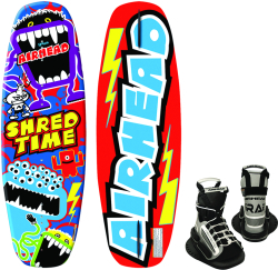 Wakeboard, 124cm, w/Grab Bindings - Airhead