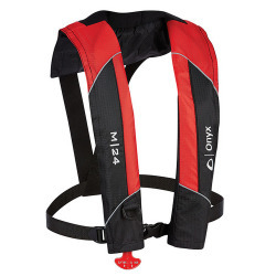 Onyx M-24 Manual Inflatable Life Jacket PFD M …