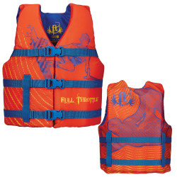 Full Throttle Character Life Vest - Youth 50- …