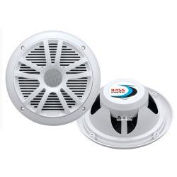 Boss Audio MR6W 6.5 Dual Cone Marine Coaxial  …