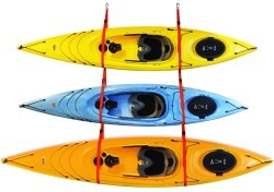 SlingThree™ Triple Kayak Storage Sy …