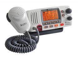VHF MR F77 GPS Radio, White - Cobra Electroni …