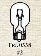 Perko Replacement Wedge Base Bulb