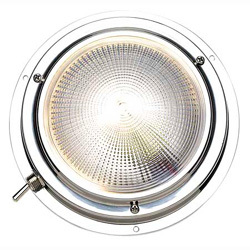 "Dome Light, 4"", 12V, Stainless Steel …"