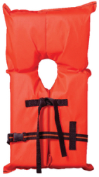 Type II Life Jacket, Youth Orange