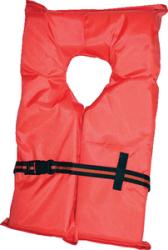 Type II Life Jacket, Adult Oversize Orange