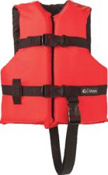 Child General Purpose Vest, Red