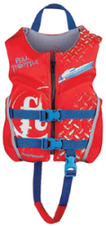 PFD CHILD RAPID-DRY FLEX-B RED - FULL THROTTL …