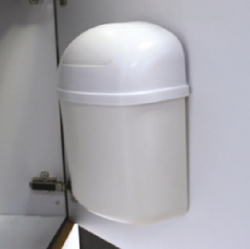 TRASH CAN-WALL MOUNT