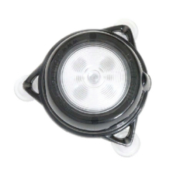 LighShip Solar LED Interior Light w/ Suction  …