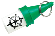 Floating Key Buoy, Green - Seachoice