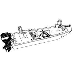 "17' 6"" Jon Bass Boat Cover - Sea …"