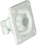 Water Pressure Regulator Type Flush, White In …