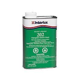 Interlux 202 Fiberglass Solvent Wash, Quart
