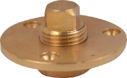 Attwood Cast Bronze Garboard Drain Plug 1/2&q …
