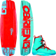 O'Brien Spark 133 Wakeboard with Spark Bi …