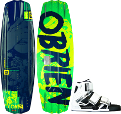 O'Brien Contra 137 Wakeboard with Connect …