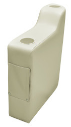 "Pontoon 7"" Left Radius Arm Rest, Mocha J …"