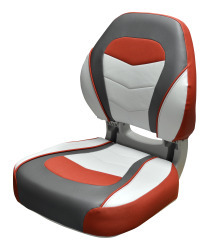 Torsa Sport Folding Boat Seat, Crimson Red/Re …