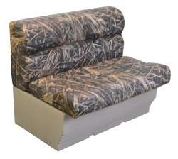 "Scout Series 36"" Camo Pontoon Bench, Sha …"