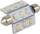 LIGHT FESTOON 42 MM 9 LED WW