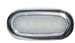 5 LED COURT LIGHT SF SS WT