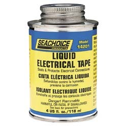 Liquid Electrical Tape, 4 Oz, Black - Seachoi …