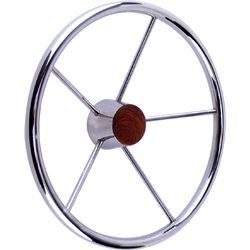 "Destroyer 15"" Steering Wheel, Stainl …"