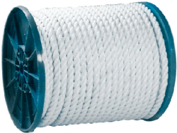 "3/8"" X 600'  Twisted Nylon Rope"