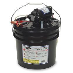 SHURFLO Oil Change Pump w/3.5 Gallon Bucket - …
