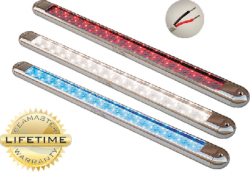 LED SLVR T-TOP LIGHT WHT/RED/B