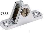 Deck Hinge, 90 Degree, Chrome Plated Zinc - S …