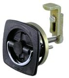 Black Flush Lock - Perko