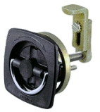 White Flush Lock - Perko