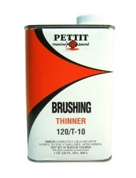 Brushing Thinner 120/T-10, Quart - Pettit Pai …
