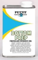 Bottom Prep Fiberglass Dewaxer D95, Quart - P …