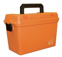 Deep Dry Emergency Supply Box w/tray, Orange  …
