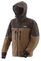 F3 Gale Rainsuit Jacket (Brown, X-Large)