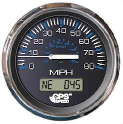 GPS SPEEDO 80MPH CHES SS BLACK